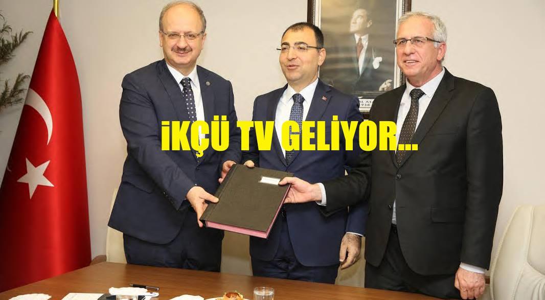 İKÇÜ TV Geliyor