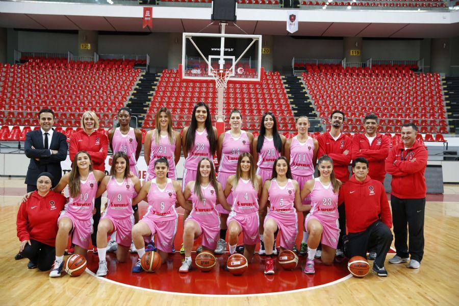 Abdullah Gül Üniversitesi Basketbol Takımı Seriyi Tutturdu