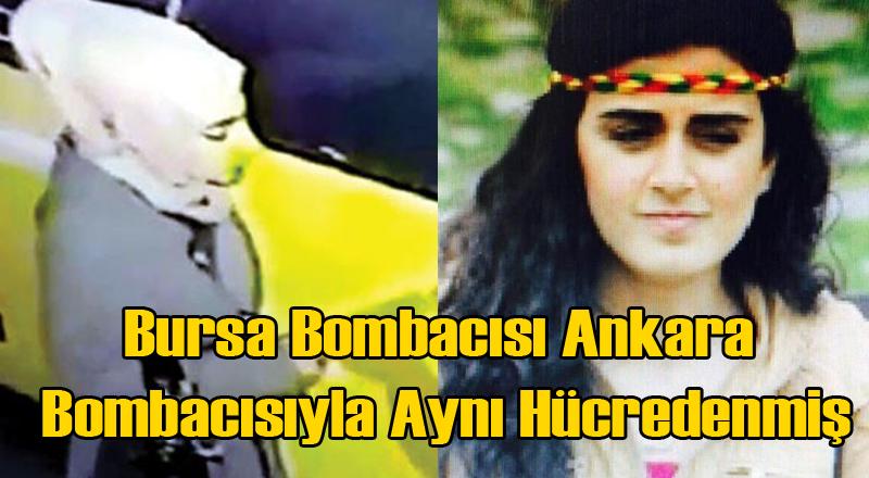 Bursa'daki Canlı Bomba Kızılay'daki Canlı Bombayla Aynı Hücreden