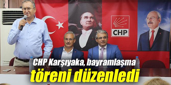 CHP Karşıyaka Örgütü bayramlaşma töreni düzenledi