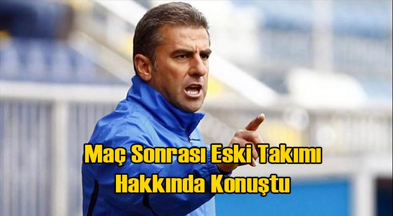 Hamza Hamzaoğlu'ndan Beklenmeyen Galatasaray Çıkışı