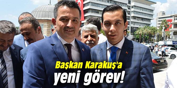 Başkan Karakuş'a yeni görev!