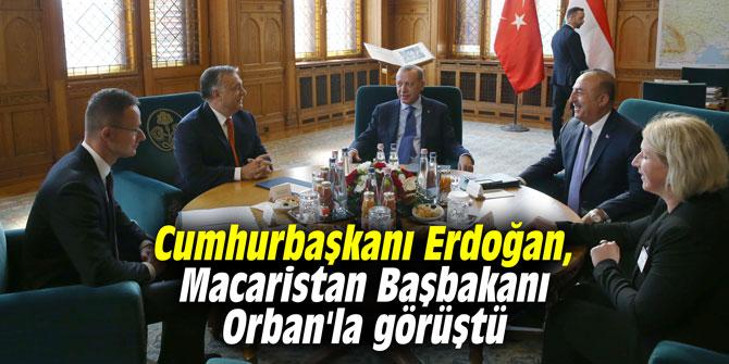 Cumhurbaşkanı Erdoğan, Macaristan Başbakanı Orban'la görüştü