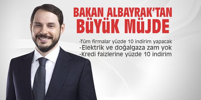 Bakan Albayrak, Enflasyonla Topyekün Mücadele Programı'nı açıkladı