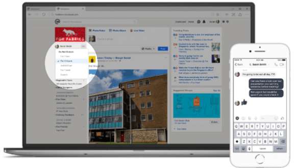 Facebook Workplace için önemli güncellemeler!