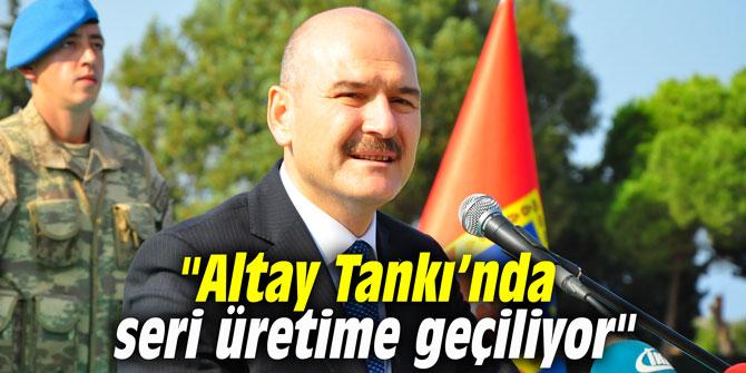 """""""Altay Tankı'nda seri üretime geçiliyor"""""""