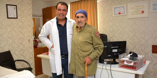 88 yaşında prostatından kurtuldu