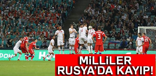 Rusya 2-0 Türkiye
