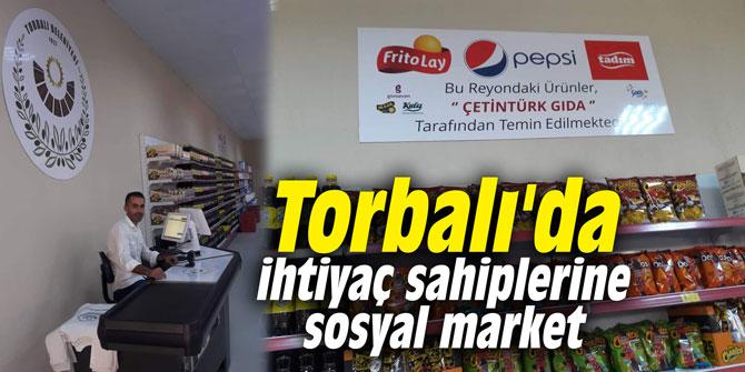 Torbalı'da ihtiyaç sahiplerine sosyal market