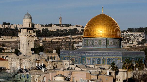 Kudüs çıkışı, Orta Doğu'da fırtına kopardı...