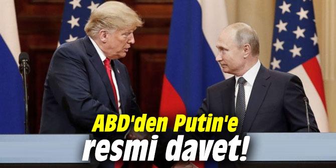 ABD'den Putin'e resmi davet!