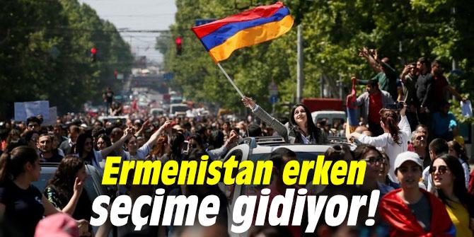 Ermenistan erken seçime gidiyor!