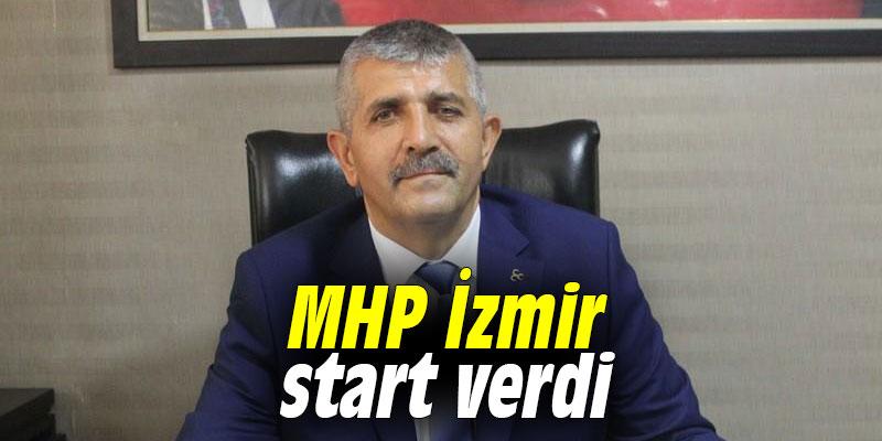 MHP İzmir start verdi