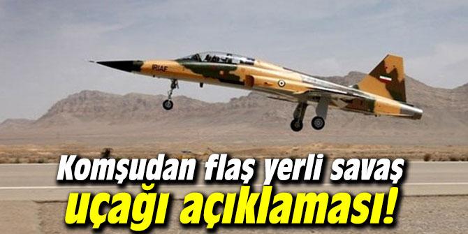 Komşudan flaş yerli savaş uçağı açıklaması!