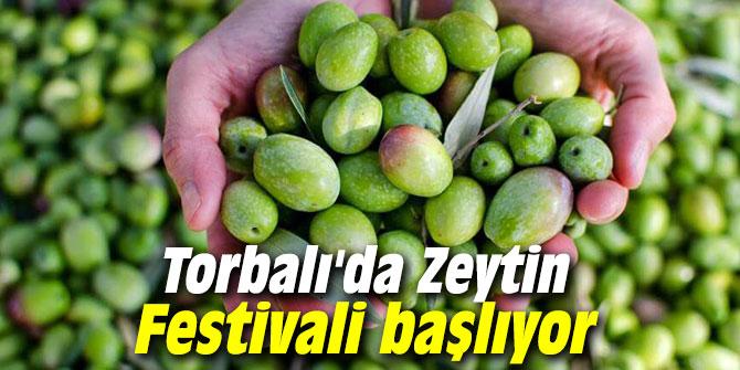 Torbalı'da Zeytin Festivali başlıyor