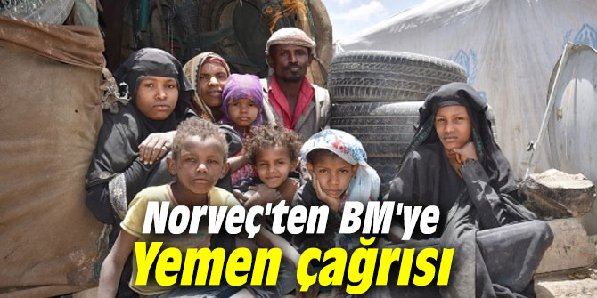 Norveç'ten BM'ye Yemen çağrısı