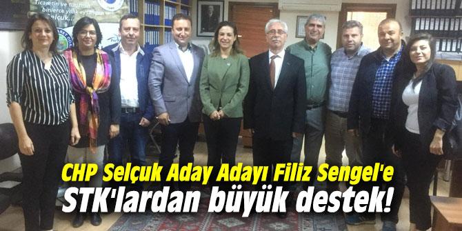 CHP Selçuk Aday Adayı Filiz Sengel'e STK'lardan büyük destek!