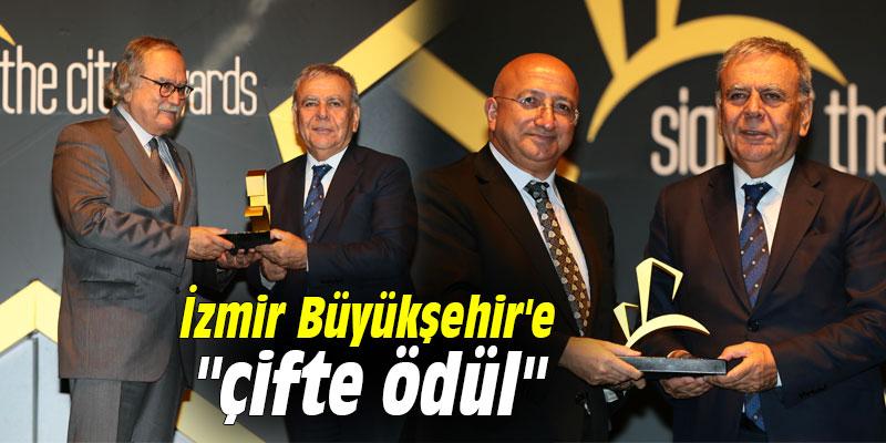 """İzmir Büyükşehir'e """"çifte ödül"""""""