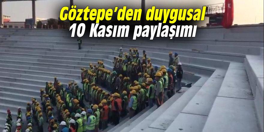 Göztepe'den duygusal 10 Kasım paylaşımı