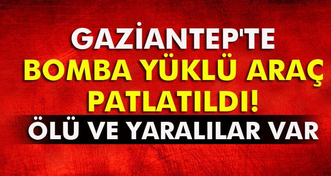 Gaziantep'te Bombalı Saldırı! Ölü ve Yaralı Var