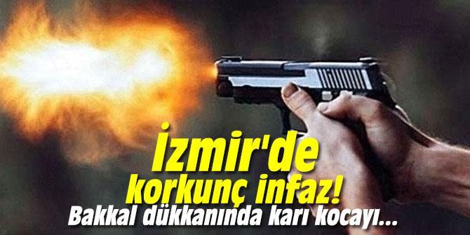 İzmir'de korkunç infaz! Bakkal dükkanında karı kocayı...