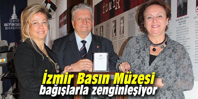 İzmir Basın Müzesi bağışlarla zenginleşiyor