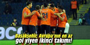 Başakşehir, Avrupa'nın en az gol yiyen ikinci takımı!
