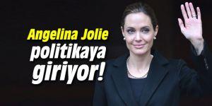 Angelina Jolie politikaya giriyor!