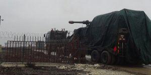Suriye sınırına obüs desteği sürüyor!