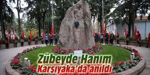 Zübeyde Hanım Karşıyaka'da anıldı