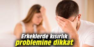 Erkeklerde kısırlık problemine dikkat
