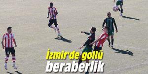 İzmir'de gollü beraberlik