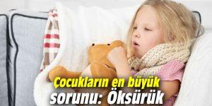 Çocukların en büyük sorunu: Öksürük