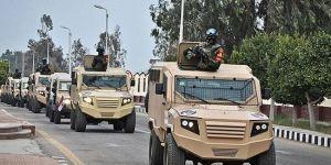 Mısır Ordusu: Sina'da 59 terörist öldürüldü