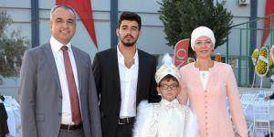 Çelebi ailesinin mutlu günü