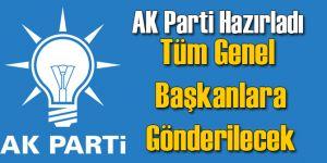 AK Parti Taslağı Genel Başkanlara Gönderecek