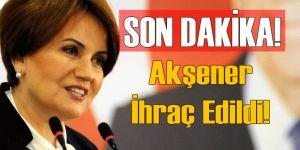 MHP Meral Akşener'i İhraç Etti!