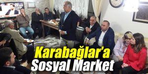 Karabağlar'a Sosyal Market