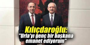 """Kılıçdaroğlu: """"Urla'yı genç bir başkana emanet ediyorum"""""""