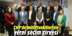 CHP İzmir'de yerel seçim zirvesi