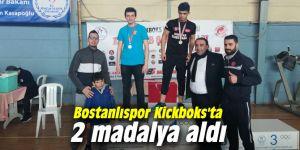Bostanlıspor Kickboks'ta 2 madalya aldı