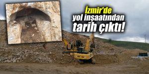 İzmir'de yol inşaatından tarih çıktı!