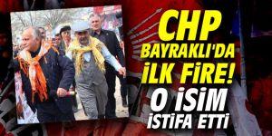 CHP şok! Bayraklı'da o isim istifa etti