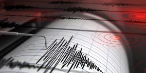 Bir deprem de Ege Denizi'nde oldu