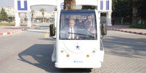 Ege'de yerli üretim elektrikli araçlar deneme seferlerine başladı