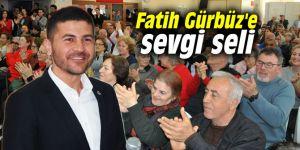 Fatih Gürbüz'e sevgi seli
