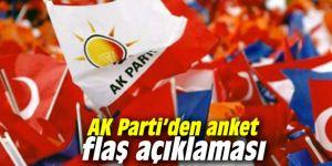 AK Parti'den anket flaş açıklaması