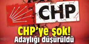 CHP'ye şok! O adayın adaylığı düşürüldü