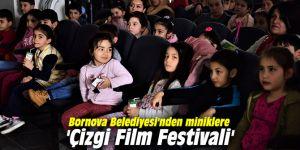 Bornova Belediyesi'nden miniklere 'Çizgi Film Festivali'