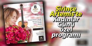Şirince Artemis'te Kadınlar Günü özel programı